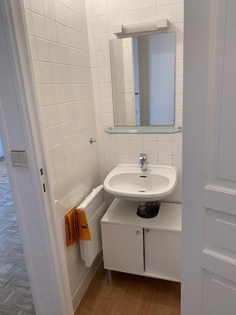 salle d'eau coté lavabo